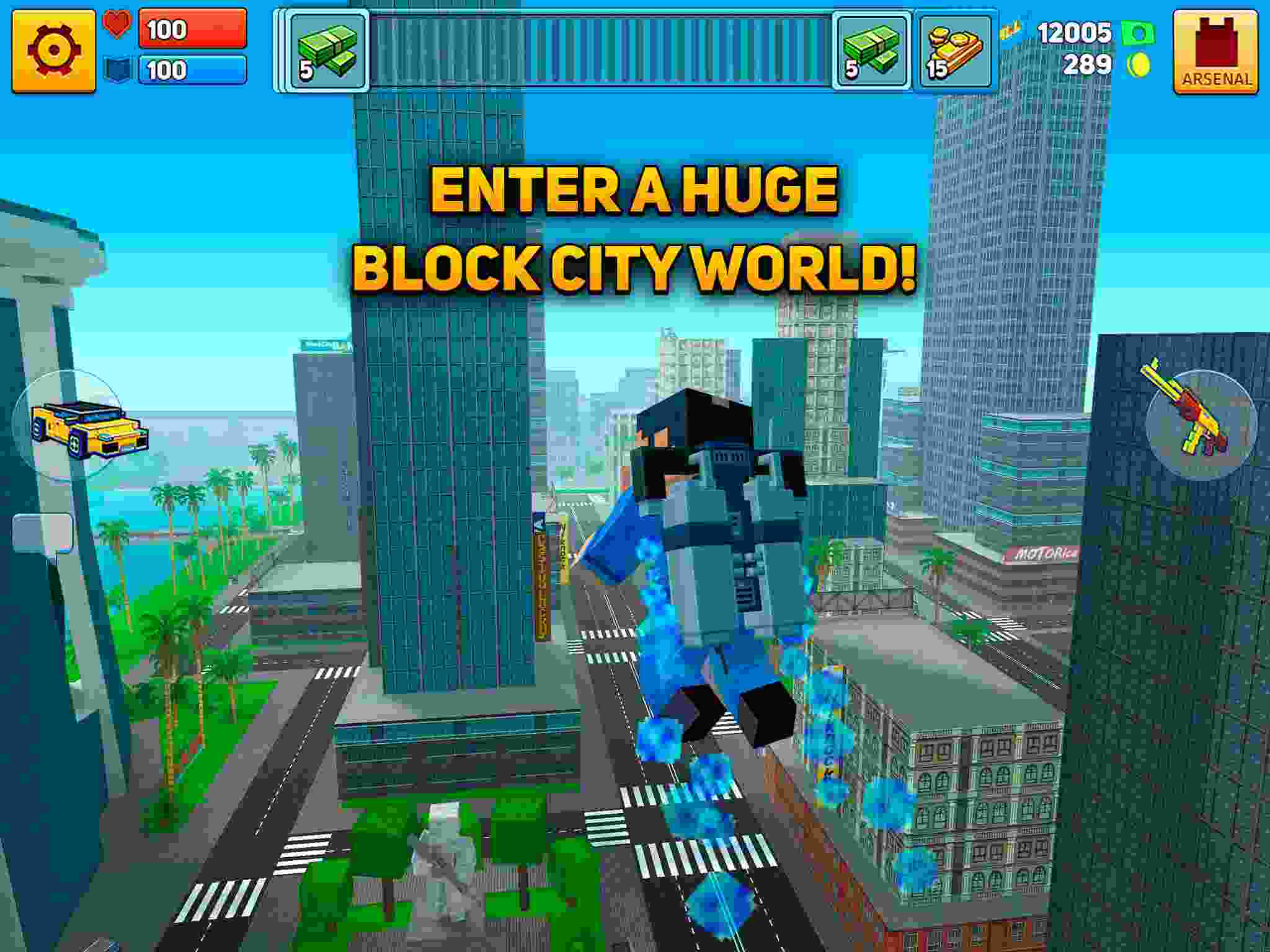 Tải game Block City Wars MOD cho Android