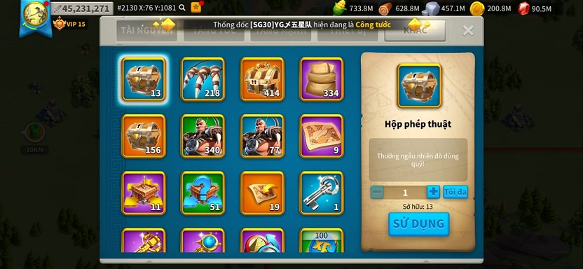 Rise of Kingdoms Mod Money cho Android