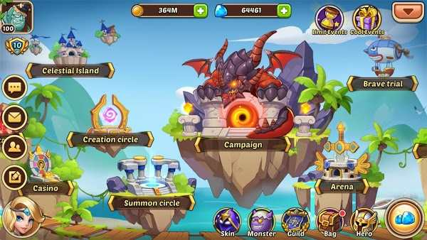 Tải game Idle Heroes MOD cho Android