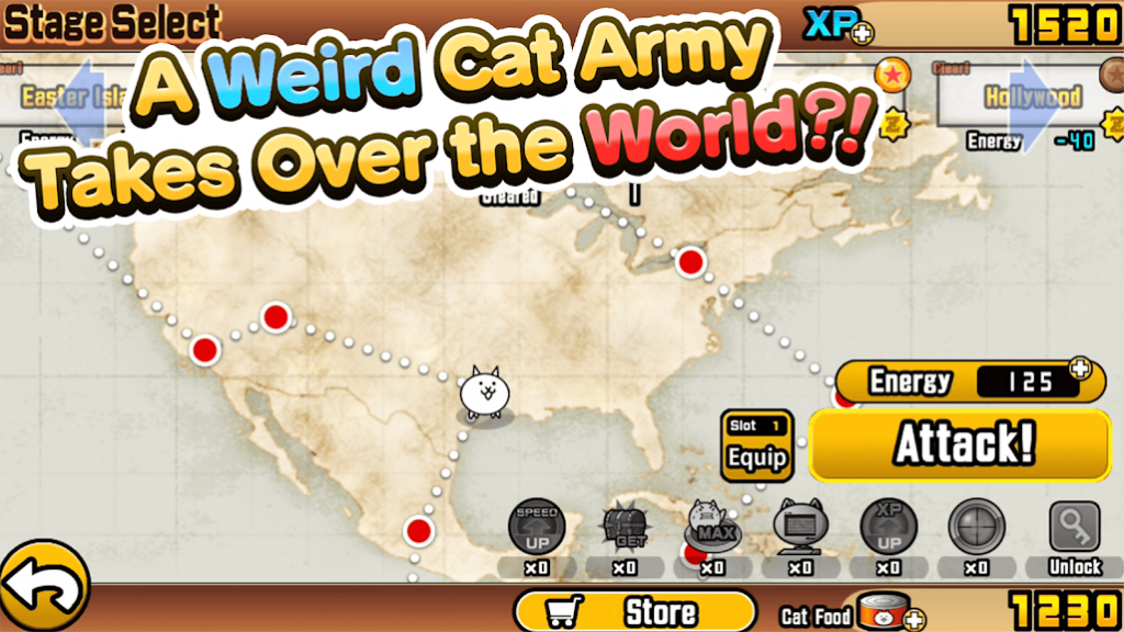 Tải game the Battle Cats MOD cho Android