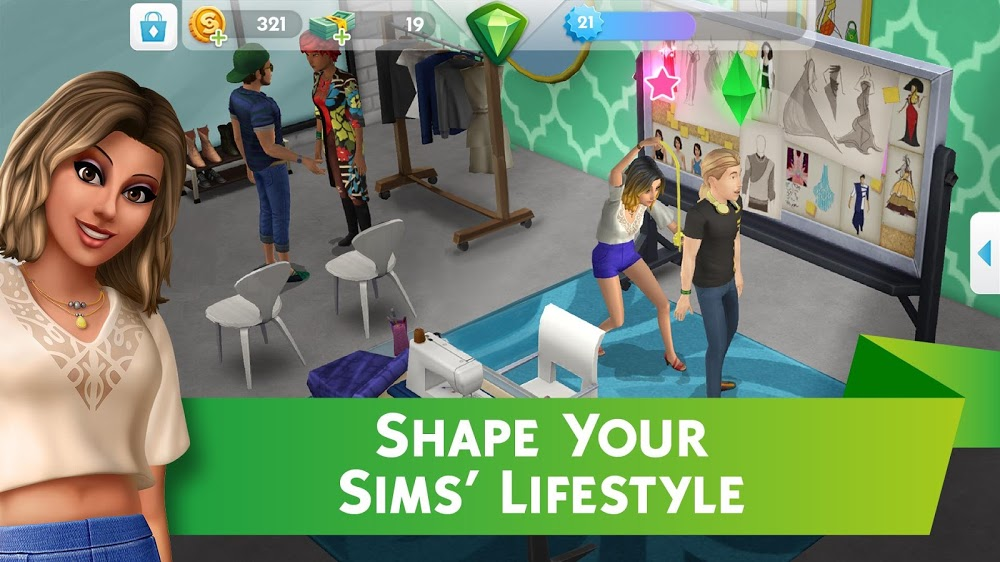 Tải game The Sims Mobile MOD cho Android
