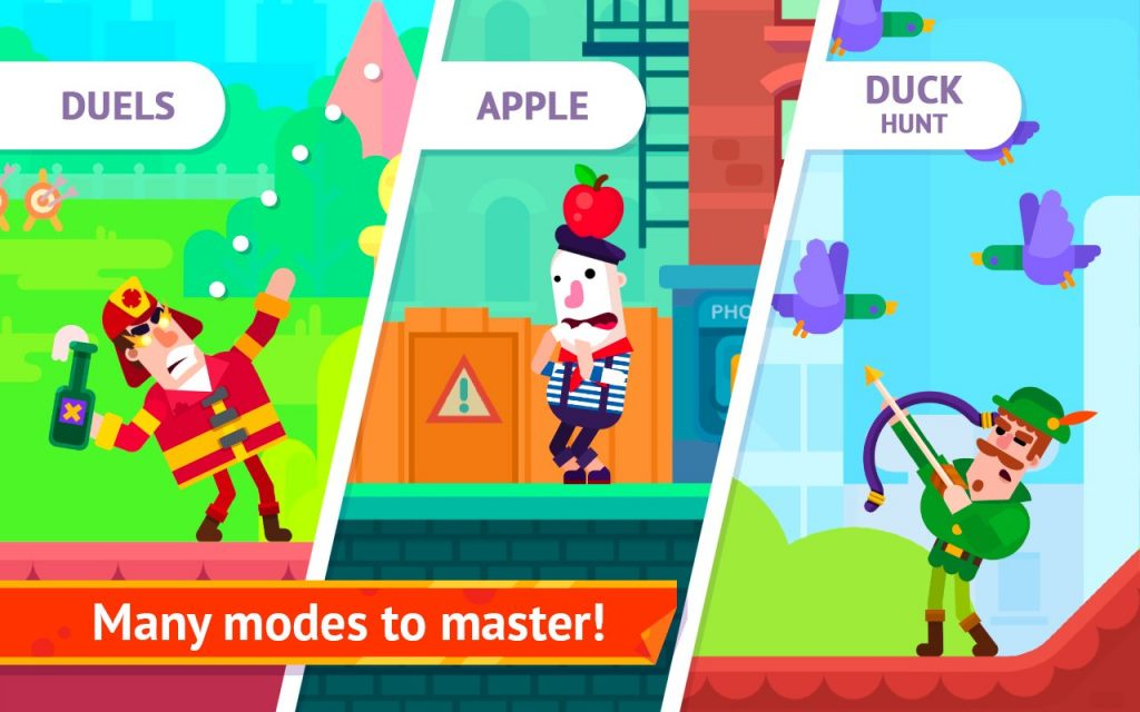 Tải game Bowmasters MOD cho Android