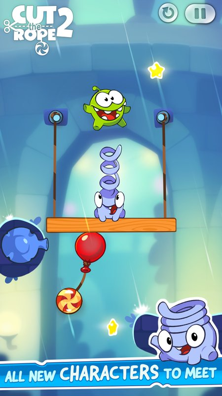 Tải game Cut the Rope 2 MOD cho ANdroid
