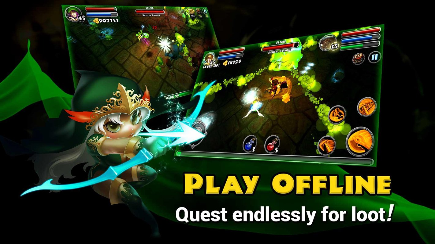Tải game Dungeon Quest MOD cho Android