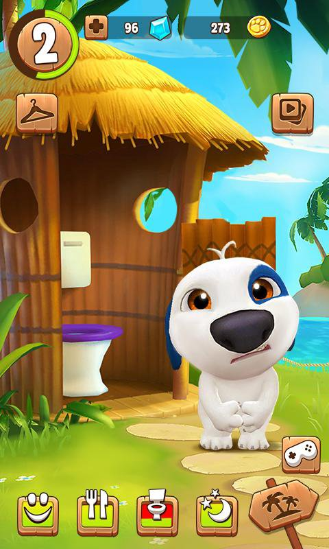Tải game My Talking Hank MOD cho Android