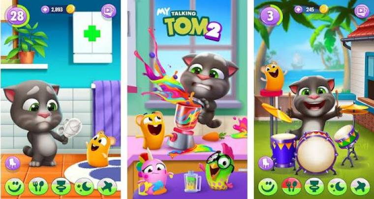 Tải game My Talking Tom 2  MOD cho Android