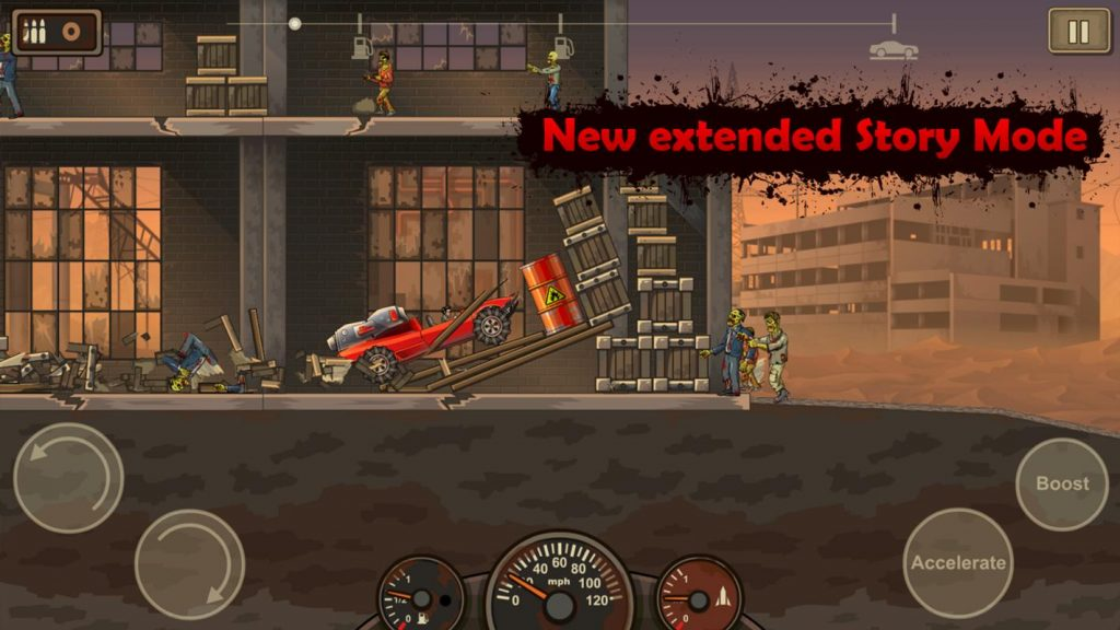Earn to Die 2 MOD cho Android