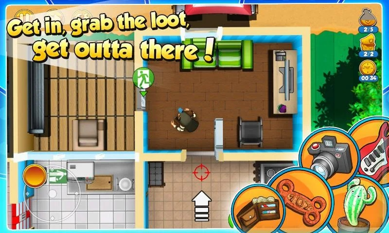 Tải game Robbery Bob 2 MOD cho Android
